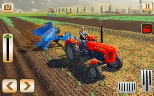 真正的3D拖拉机耕种模拟器2021截图