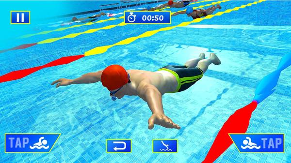 游泳冠军截图