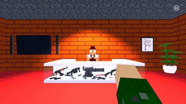 像素世界射击模拟器
