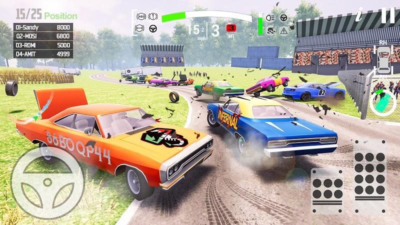 车祸事故模拟驾驶截图