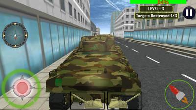 坦克大战警车截图