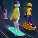 人类霓虹冲浪