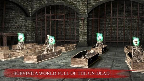 骷髅射击地牢世界截图