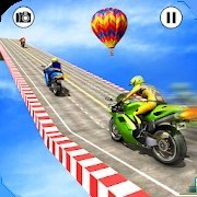 超级3D摩托车特技赛车