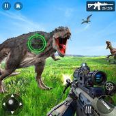 野生恐龙狩猎射击