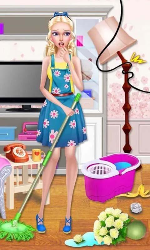 公主清理房间截图