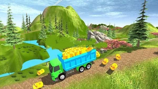 货车运输冒险截图