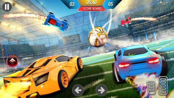 3D汽车足球截图