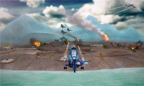 直升机空袭