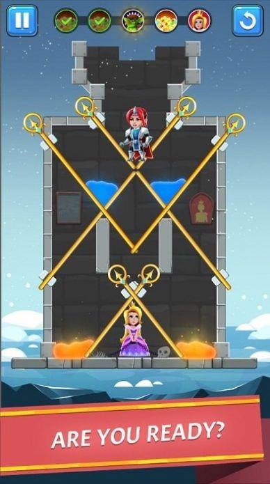 闯入城堡拯救公主