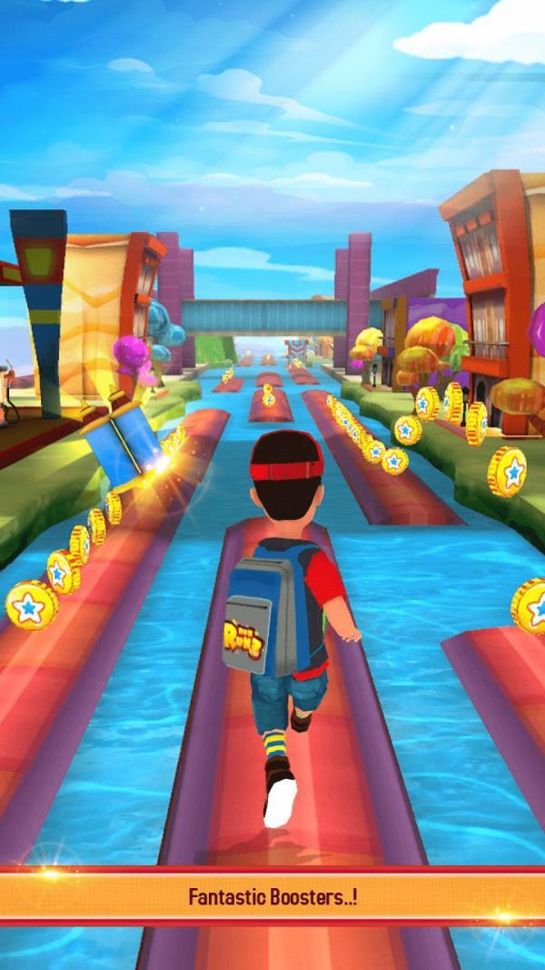 水上跑酷3D