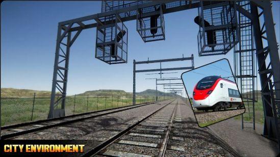 子弹头火车模拟截图
