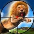狮子狩猎狙击手