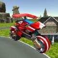 飞行直升机摩托车